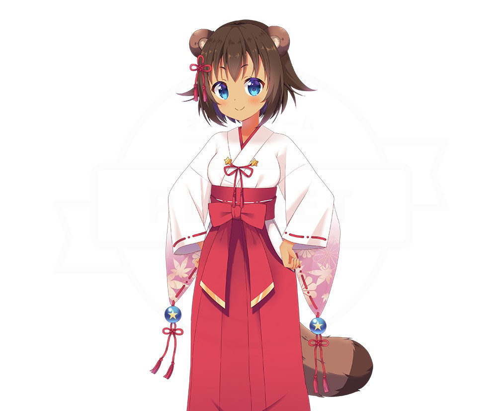 WABISABI international キャラクター『あき』紹介イメージ