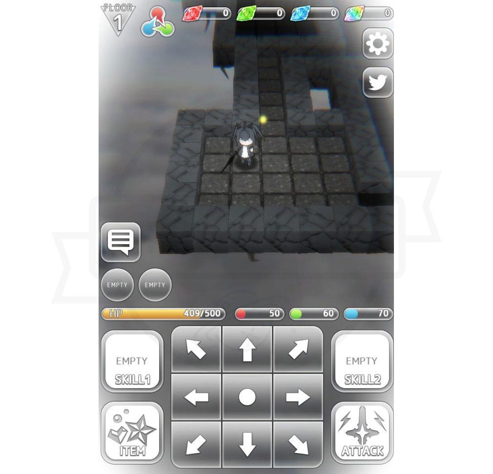 虹のユグドラシル ゲーム画面スクリーンショット