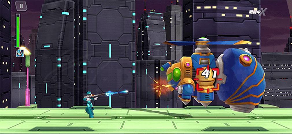 ロックマンX DiVE(RXD) 『ストーリーモード』スクリーンショット