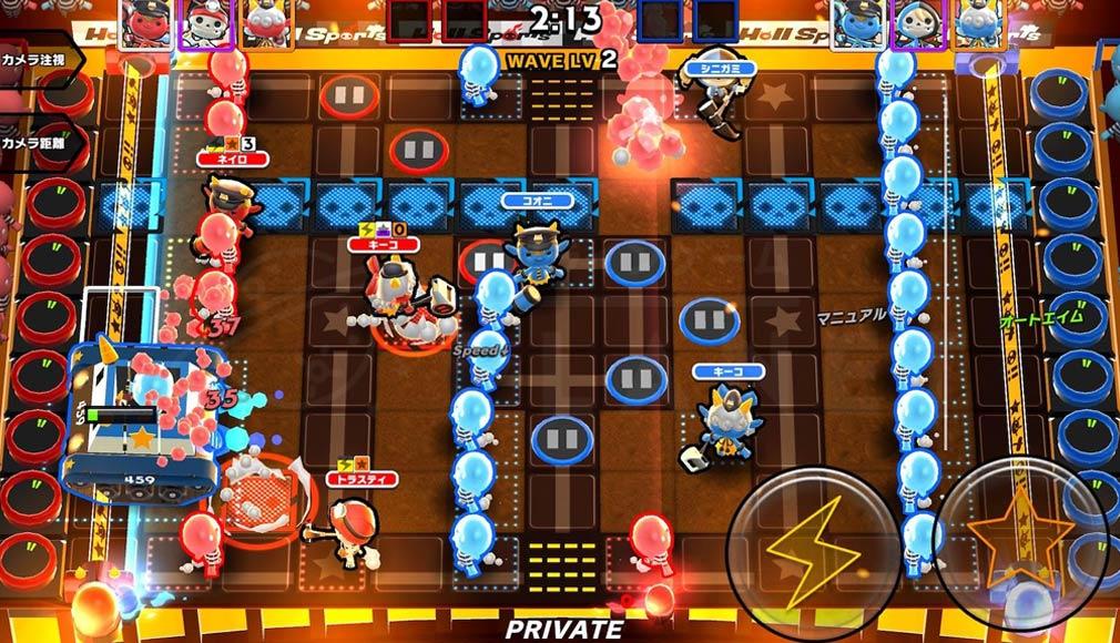 Hell Sports(ヘルスポーツ) バトルスクリーンショット