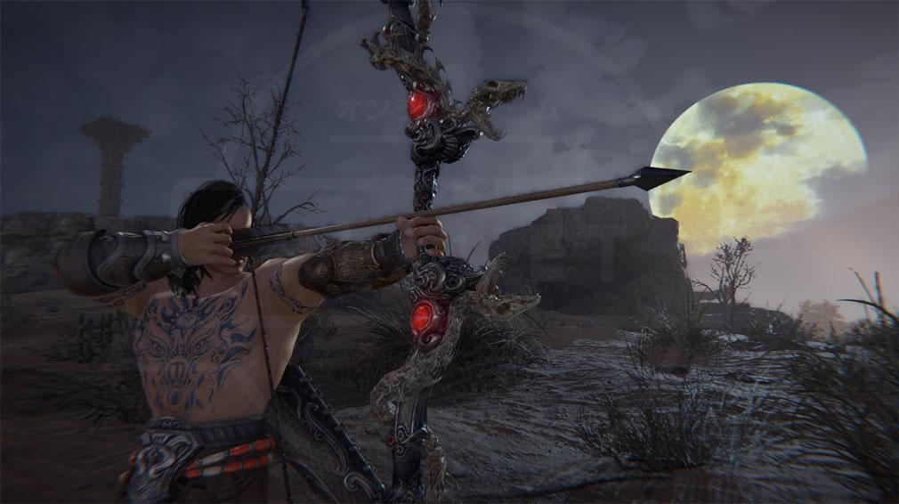 NARAKA:BLADEPOINT(ナラカ ブレードポイント) 矢を放つスクリーンショット