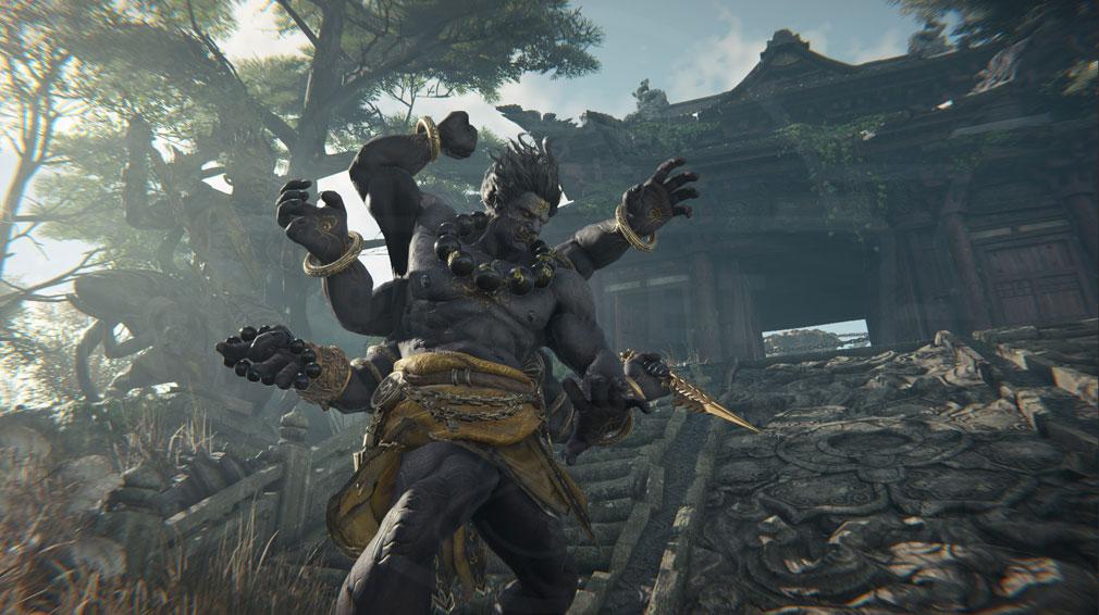 NARAKA:BLADEPOINT(ナラカ ブレードポイント) 宗教や神話と繋がりがある敵のスクリーンショット