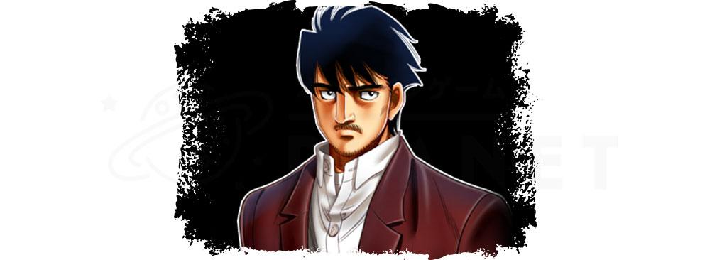 はじめの一歩 fighting souls(ファイソル) キャラクター『藤井 稔』紹介イメージ
