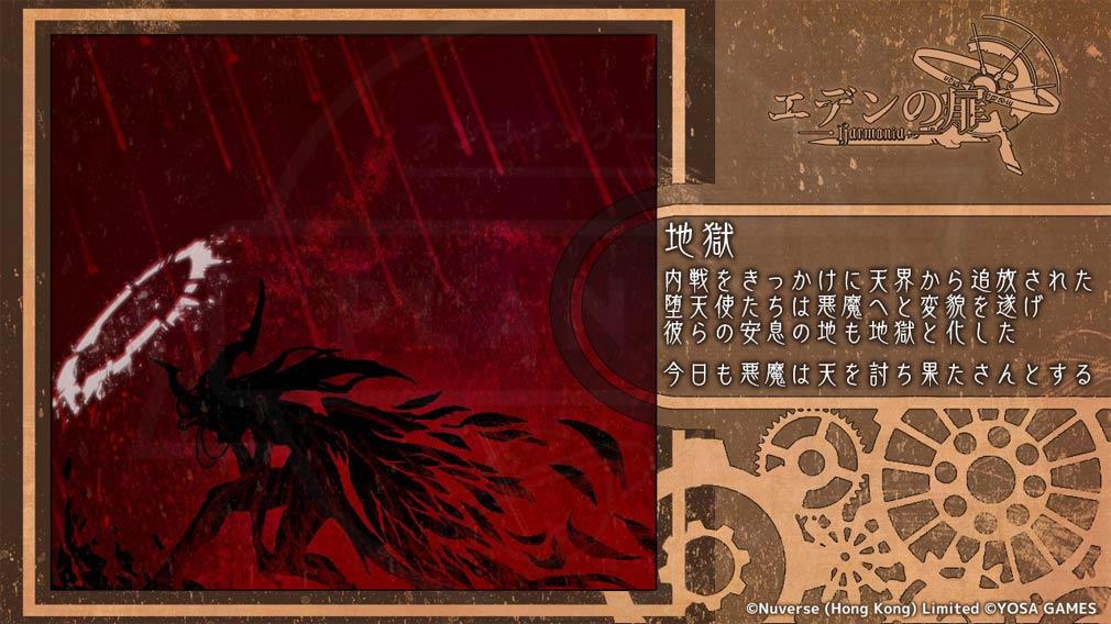 エデンの扉 『地獄』紹介イメージ