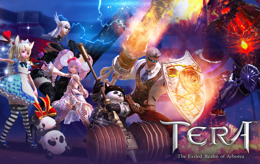 TERA :The Exiled Realm of Arborea キービジュアル