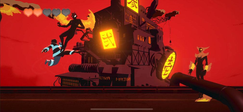 炎炎ノ消防隊 焰道の決戦 『シンラ』プレイスクリーンショット