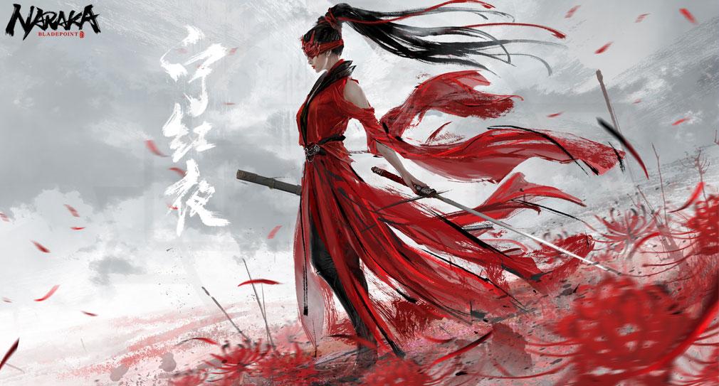 NARAKA:BLADEPOINT(ナラカ ブレードポイント) キャラクター『寧紅夜』紹介イメージ