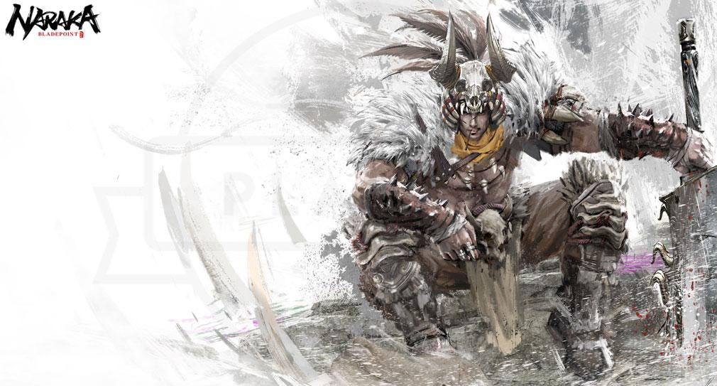 NARAKA:BLADEPOINT(ナラカ ブレードポイント) キャラクター『鉄穆耳(テムル)』紹介イメージ