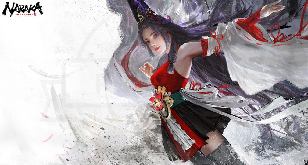 NARAKA:BLADEPOINT(ナラカ ブレードポイント) キャラクター『土御門胡桃』紹介イメージ