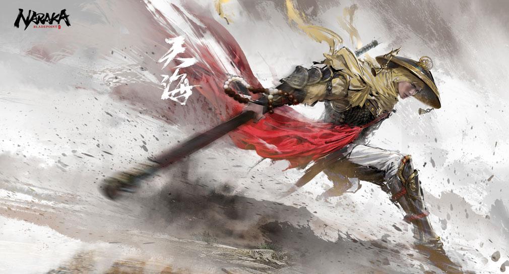 NARAKA:BLADEPOINT(ナラカ ブレードポイント) キャラクター『天海』紹介イメージ