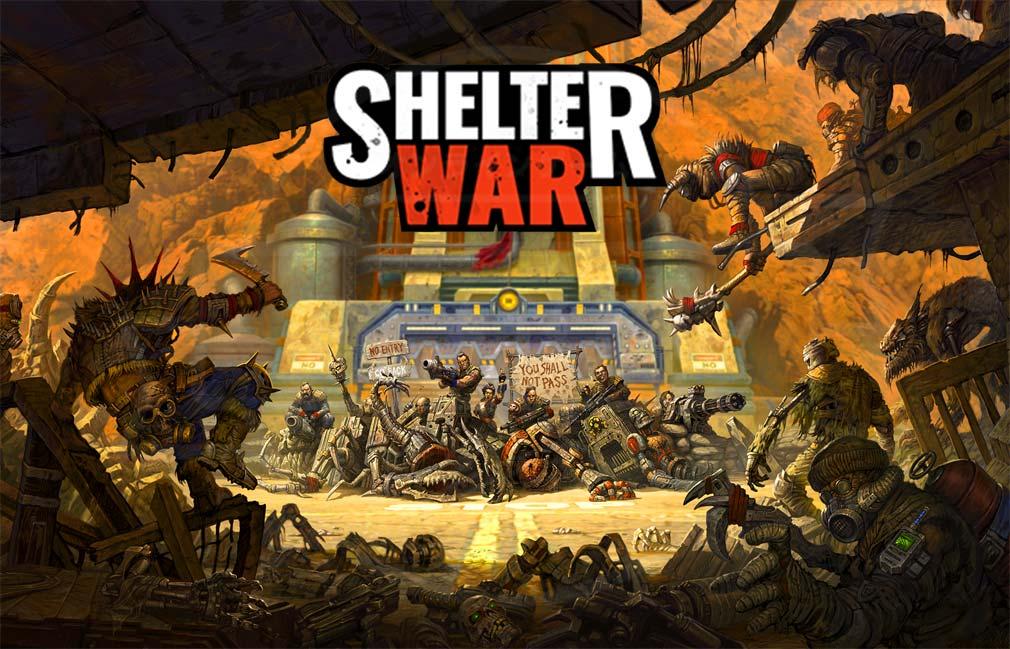 Shelter War 世界の終末、最後の街 キービジュアル