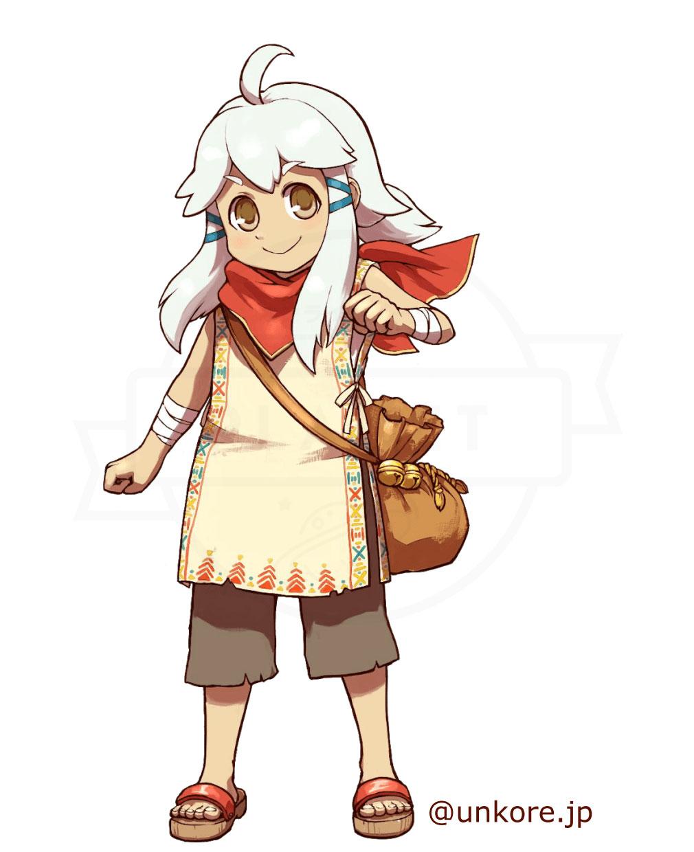 うんコレ キャラクター『アリス』紹介イメージ