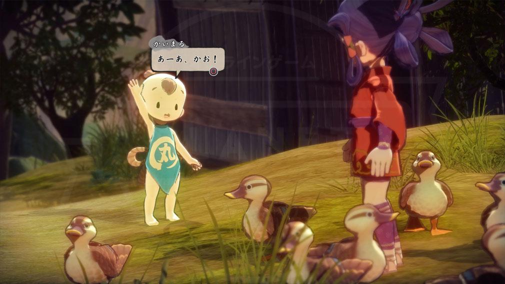 天穂のサクナヒメ キャラクター『かいまる』スクリーンショット