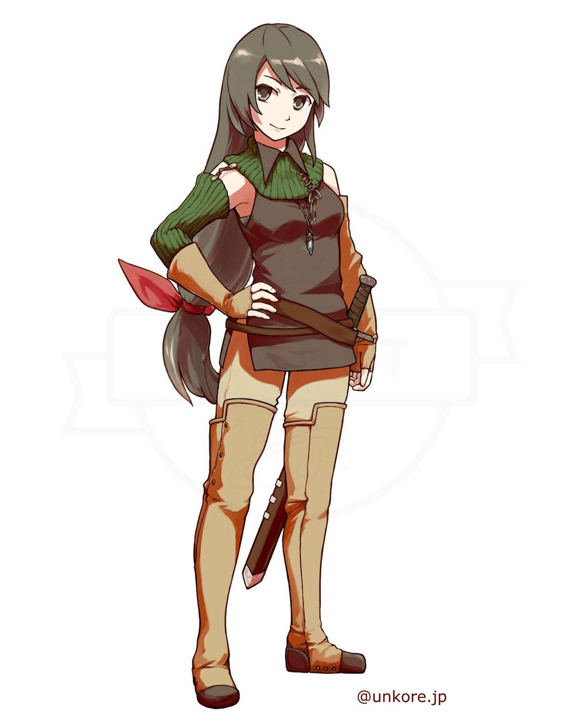 うんコレ キャラクター『アンリ・ハルトマン』紹介イメージ