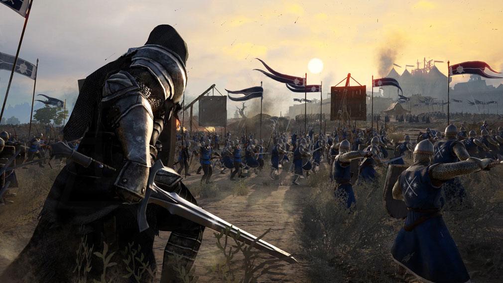 コンカラーズ・ブレード(Conqueror's Blade) 『ソード&シールド』使用スクリーンショット