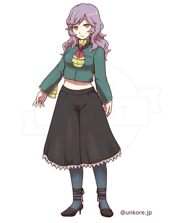 うんコレ キャラクター『アルフリーダ・ヘガール』紹介イメージ