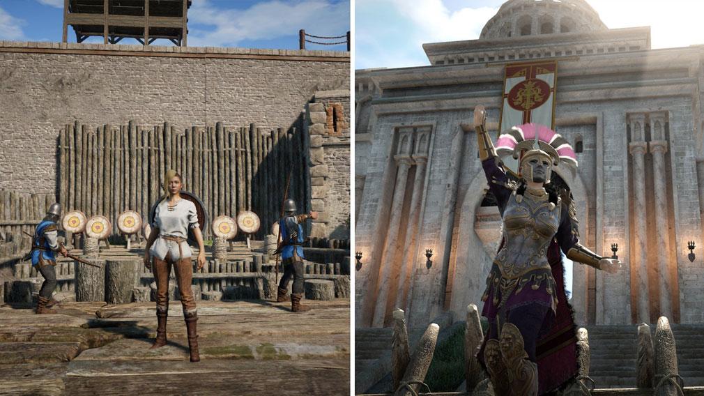 コンカラーズ・ブレード(Conqueror's Blade) プレイヤーの成長過程スクリーンショット