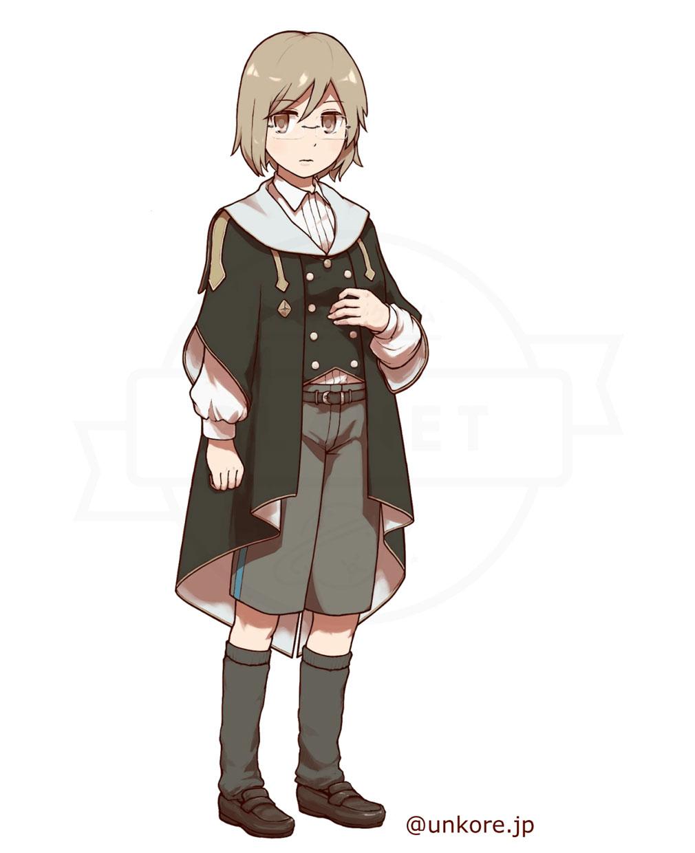 うんコレ キャラクター『クラウディア・ベルナール』紹介イメージ