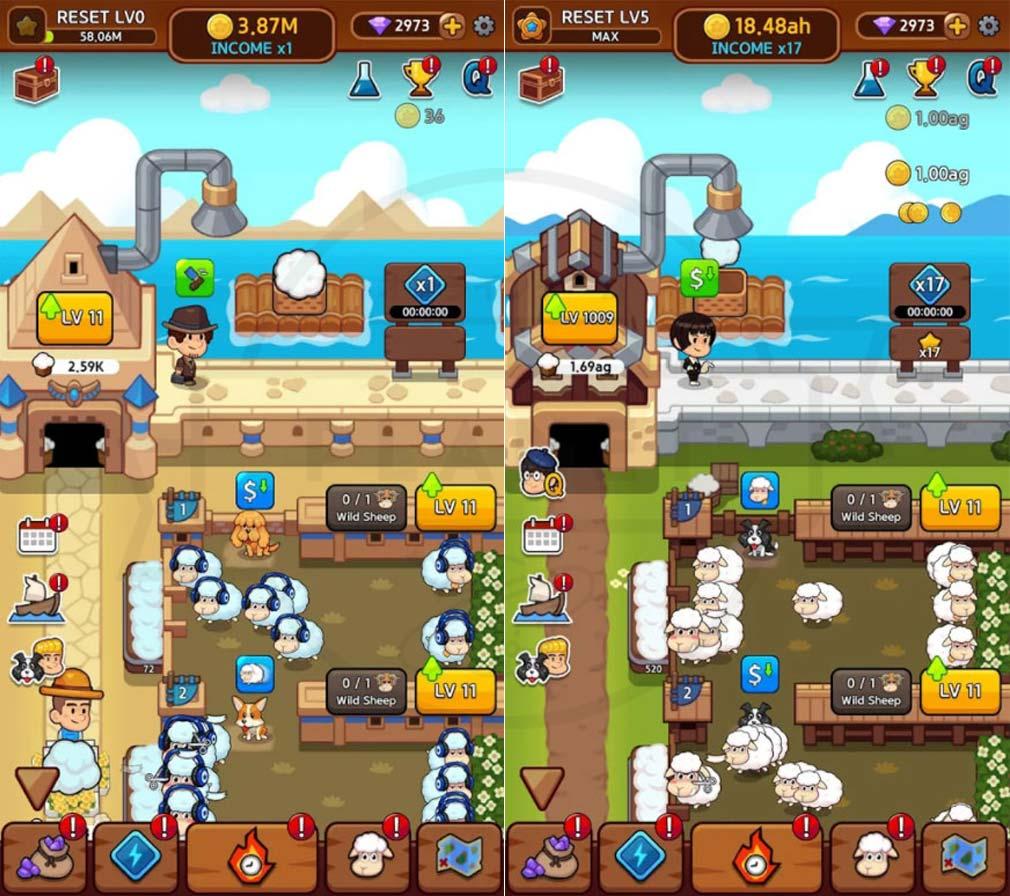 Sheep Farm(シープファーム) プレイスクリーンショット