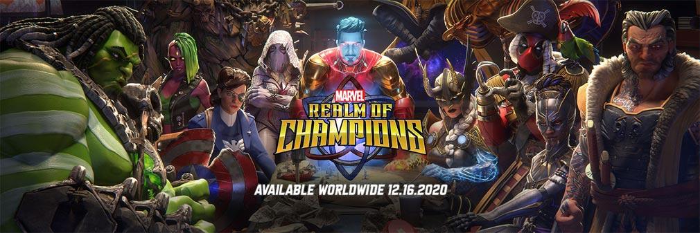 Marvel All Star Realm(オールスターレル) フッターイメージ