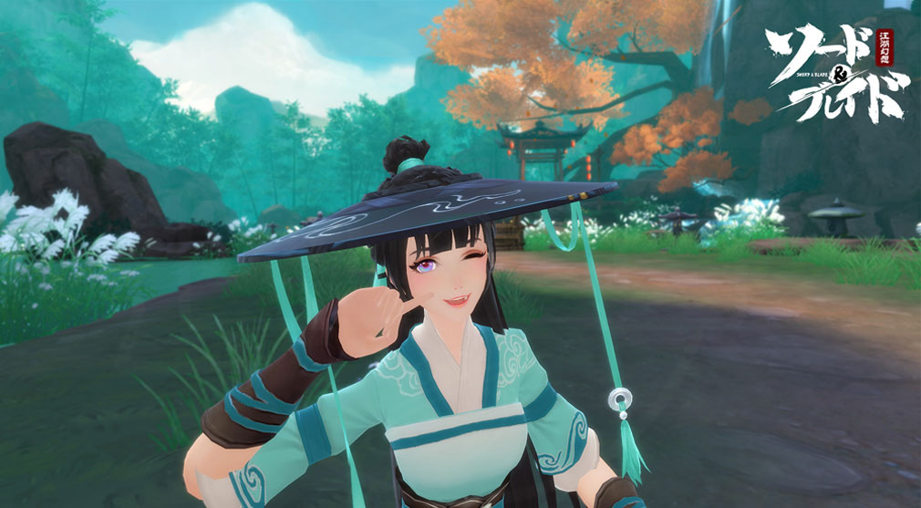ソード&ブレイド −江湖幻想− (ソーブレ) オリジナルキャラクタースクリーンショット
