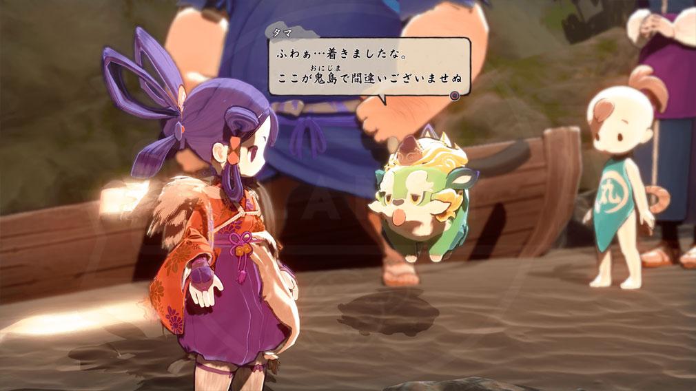 天穂のサクナヒメ キャラクター『タマ爺』スクリーンショット