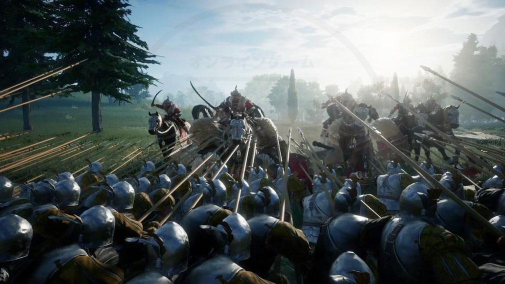 コンカラーズ・ブレード(Conqueror's Blade) 自らも実際に武器をふるって兵士として戦うスクリーンショット