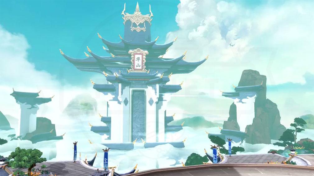 ソード&ブレイド −江湖幻想− (ソーブレ) 険しさで知られる華山に存在する『奇険天下第一山』紹介イメージ