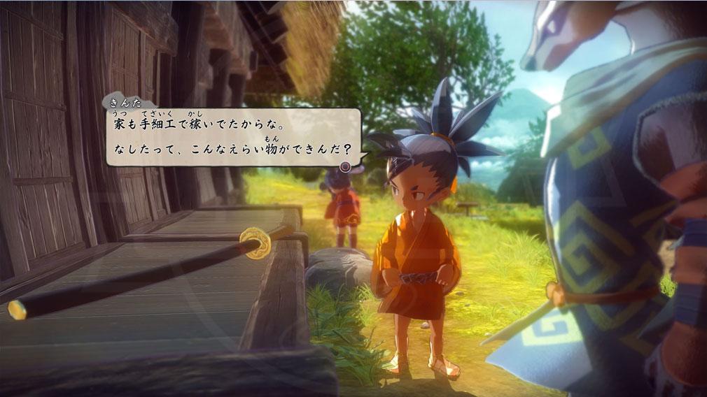 天穂のサクナヒメ キャラクター『きんた』スクリーンショット