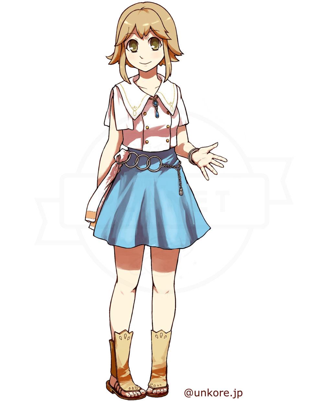 うんコレ キャラクター『エミリー・ペアン』紹介イメージ
