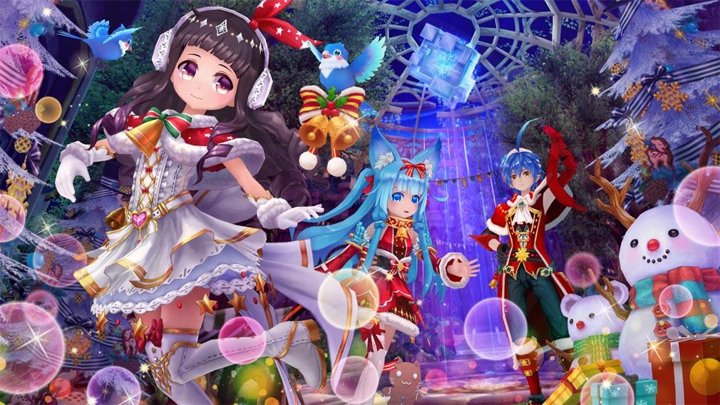 幻想神域 クリスマスや正月など季節感のあるイラストイメージ