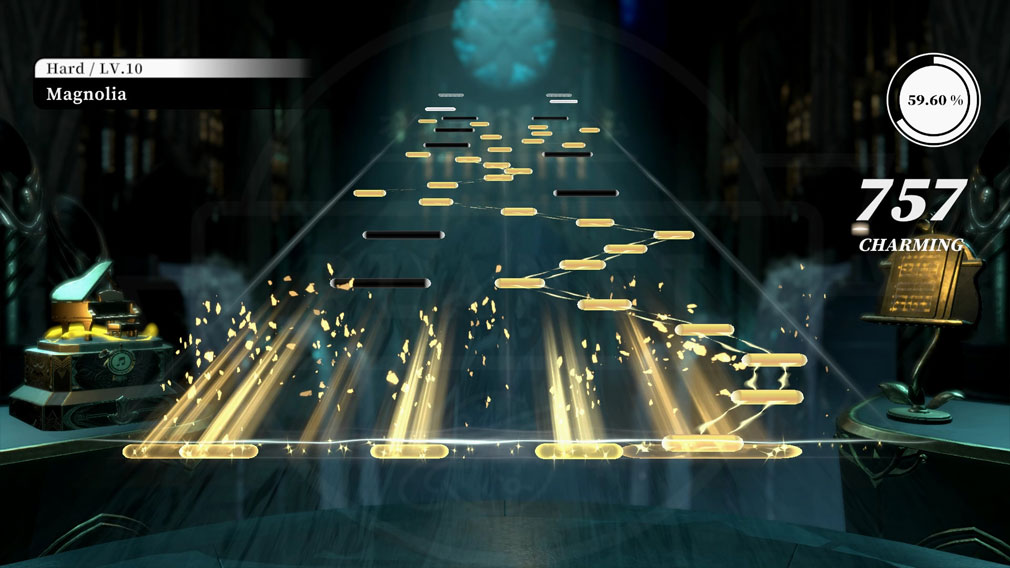 DEEMO Reborn 『Magnolia』ハードプレイスクリーンショット