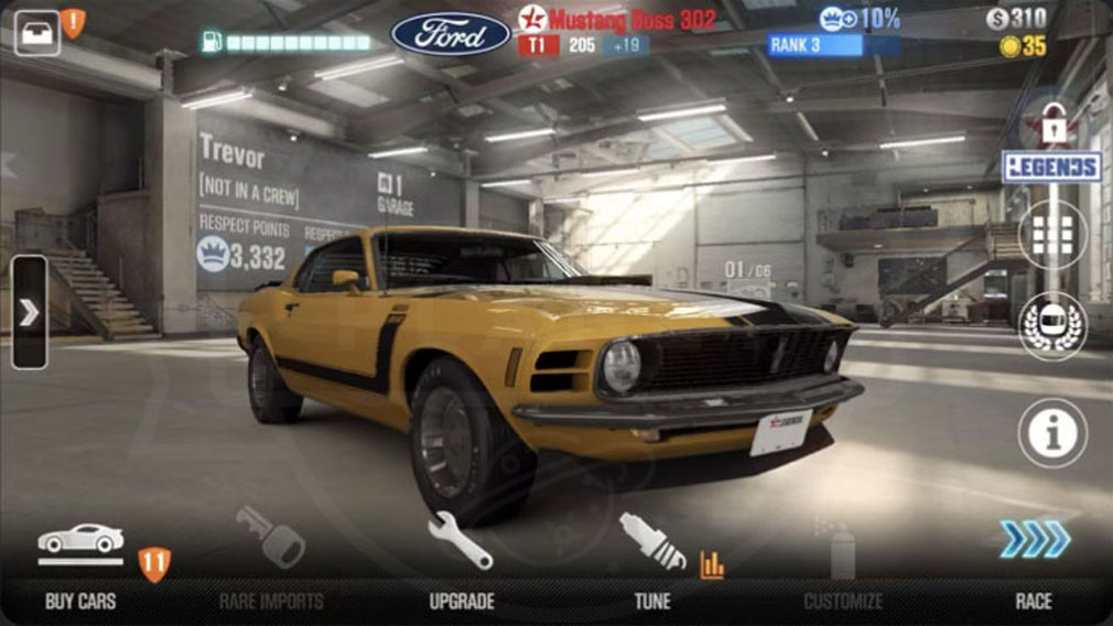 CSR Racing2 (CSR2) カスタマイズスクリーンショット