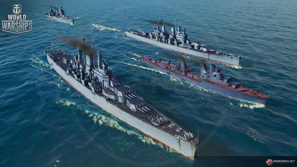 World of Warships(WoWs) 色々な艦艇スクリーンショット