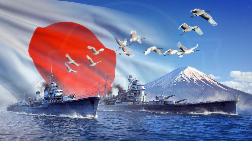 World of Warships(WoWs) 日本向けクリエイティブイメージ