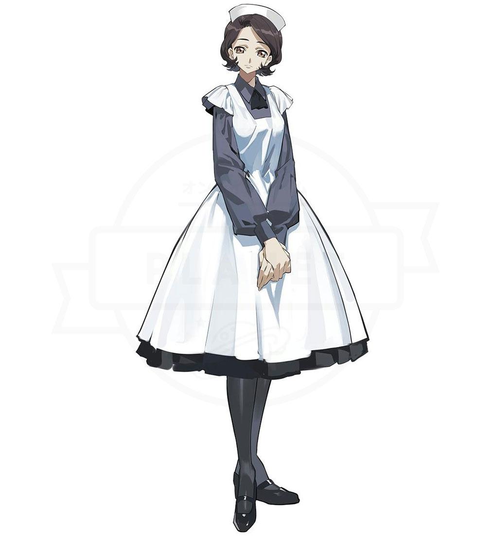 コードギアス Genesic Re CODE(ギアジェネ) 新たに描き下ろされたキャラクター『篠崎 咲世子』紹介イメージ