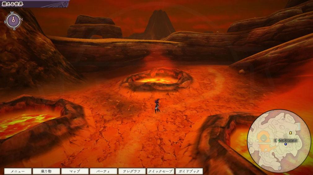 アライアンス・アライブ HDリマスター 『燃える世界』を冒険するスクリーンショット