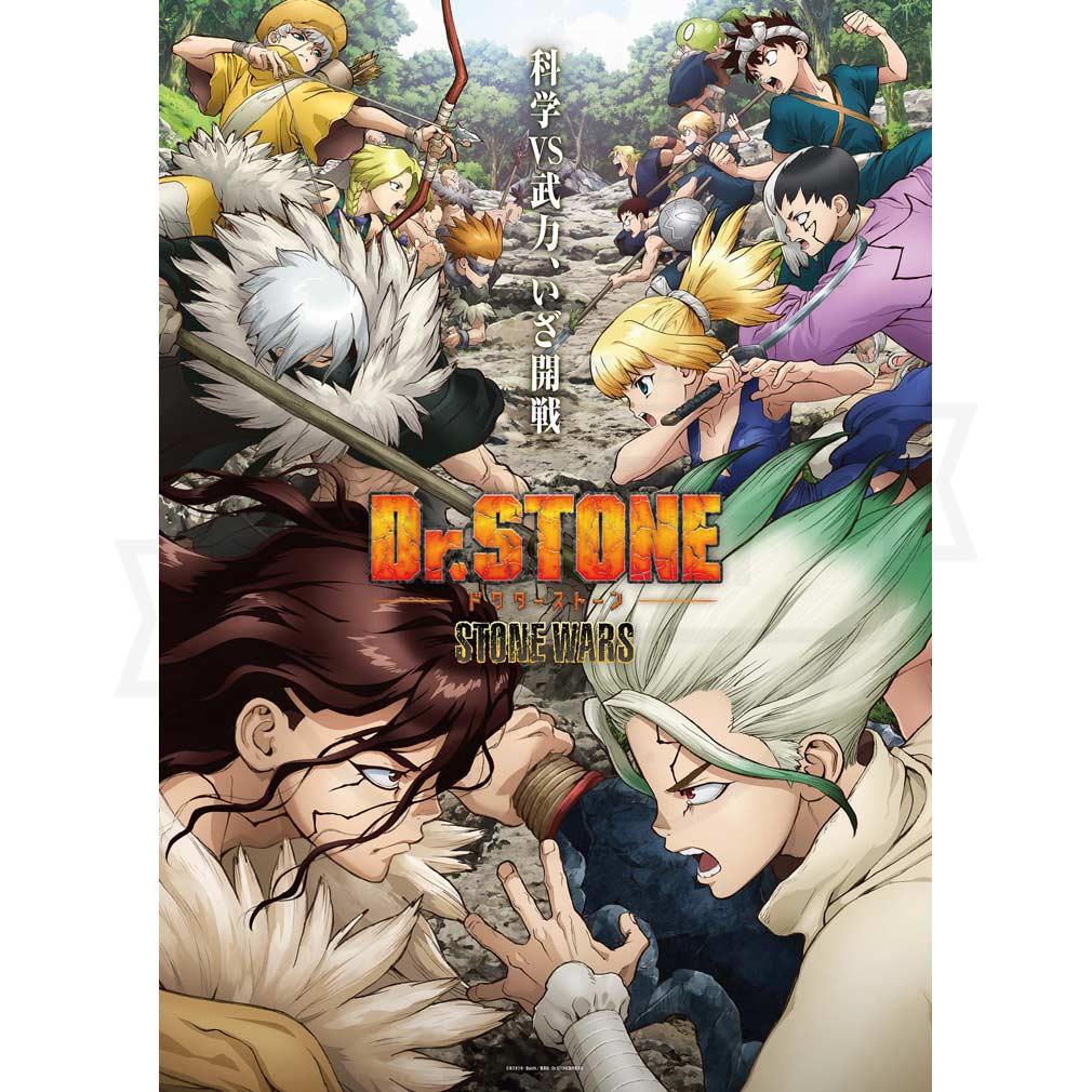 TVアニメ『Dr.STONE(ドクターストーン)』キービジュアル