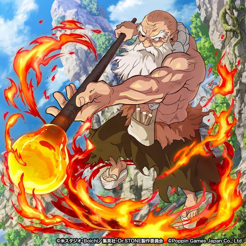 Dr.STONE バトルクラフト(バトクラ) キャラクター『カセキ』紹介イメージ