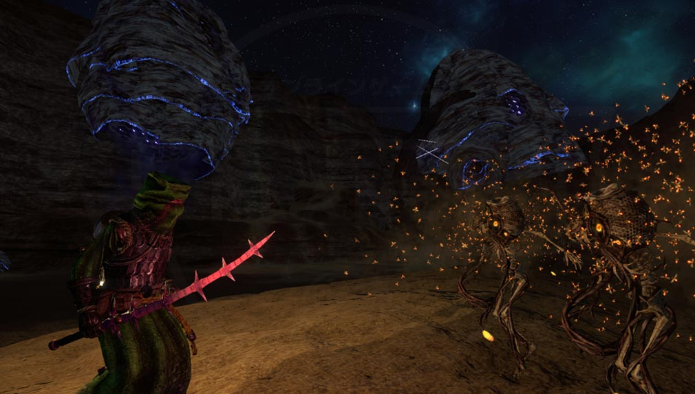 Outward(アウトワード) 魔法や罠で敵を討伐するスクリーンショット