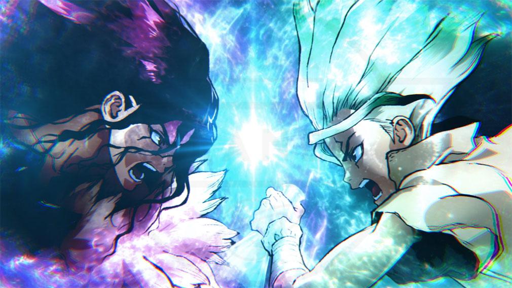 第2期TVアニメ『Dr.STONE(ドクターストーン)』科学VS武力開戦イメージ