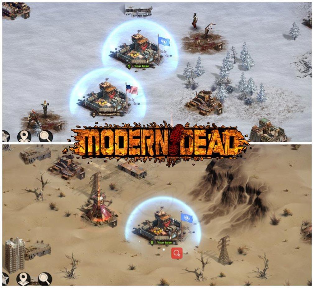 Modern Dead(モダンデッド) 雪に覆われた荒れ地や、不毛の砂漠紹介イメージ