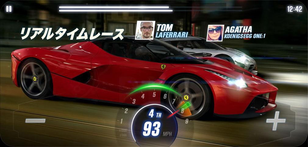 CSR Racing2 (CSR2) リアルタイムレーシング紹介イメージ