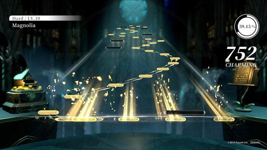 DEEMO Reborn 『リズムモード』プレイスクリーンショット
