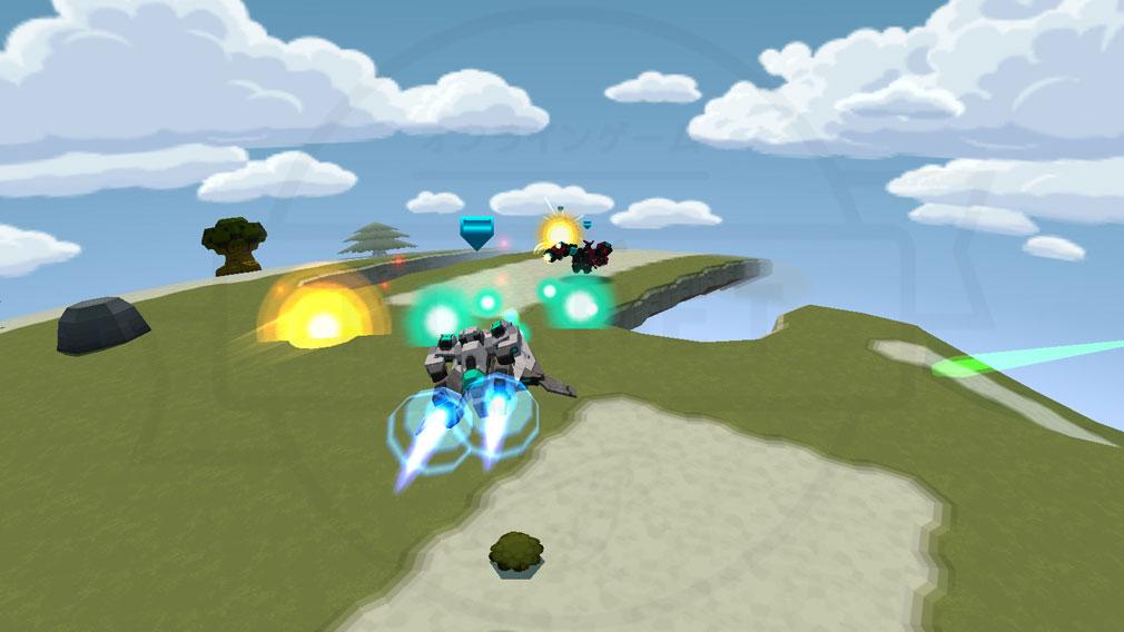 CosmicBreak Universal(コズミックブレイク ユニバーサル)CBUNI 空中移動スクリーンショット