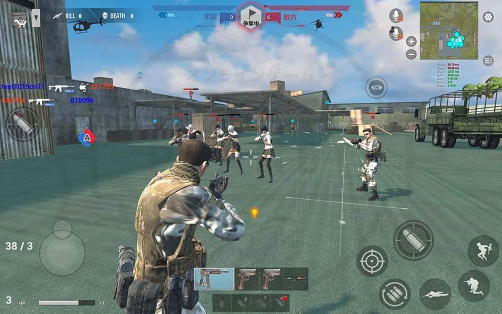 戦陣 -SENJIN- チームワークが大切なバトルスクリーンショット
