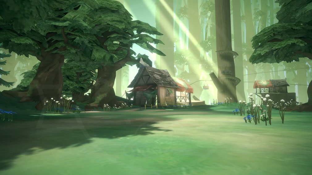Lord of Heroes(ロードオブヒーローズ)ロドヒロ エリート向け地域『大森林深層部』紹介イメージ