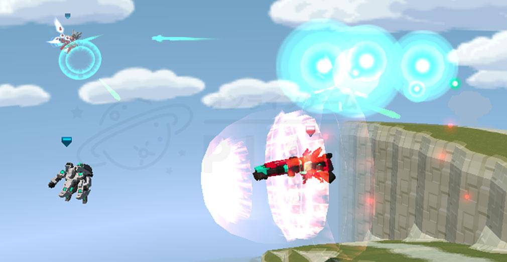 CosmicBreak Universal(コズミックブレイク ユニバーサル)CBUNI 空中バトルスクリーンショット