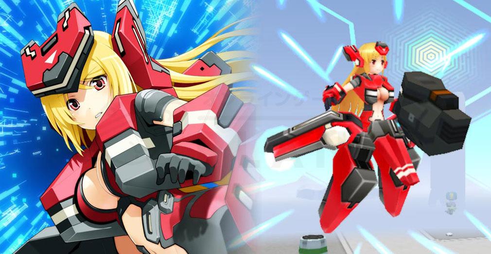 CosmicBreak Universal(コズミックブレイク ユニバーサル)CBUNI 2Dアニメ、3Dモデリングのヒューマノイドスクリーンショット