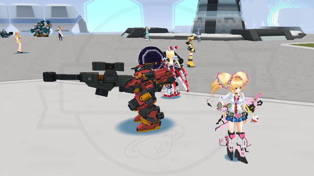 CosmicBreak Universal(コズミックブレイク ユニバーサル)CBUNI フィールドにいる『ヒューマノイド』スクリーンショット